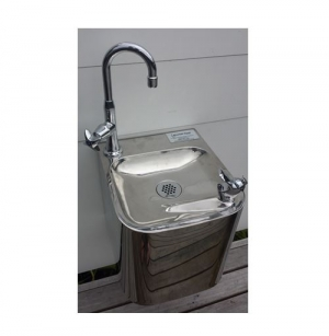 Stainless Steel Wall Mounted Fountain With Robust Bottle Filler F6OA