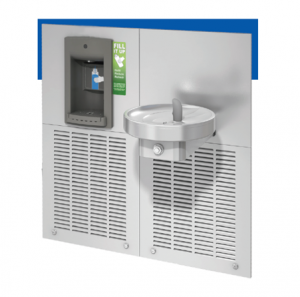 Fusion Range - Wall Mounted Fountain with Bottle Filler