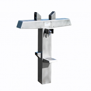 Stainless Steel Robust Drinking Fountain - F6RS-SD