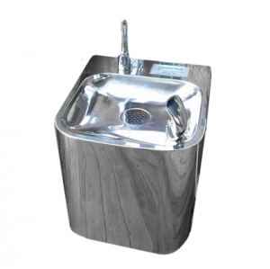 Toggle Operated Stainless Steel Wall Mounted Fountain F6OTL