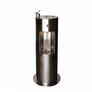 Stainless Steel Fountain with Bottle Filler F6Q