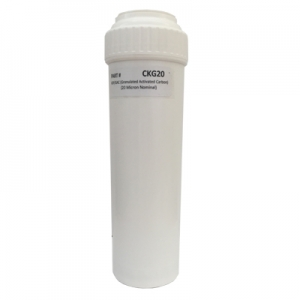 Granulated Carbon/KDF 20 Micron Filter - CKG20